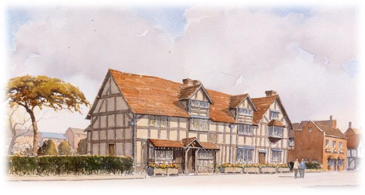 william shakespeare family. where William Shakespeare